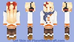 Hello Autumn Minecraft Skin