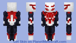 Spider-Man 2099 - All New All Different || Avenger Craft Skin Minecraft Skin