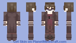 Pale Noel // Original Sin Story (evillious) Minecraft Skin