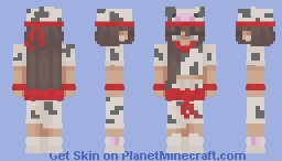 Cow Girl Ninja Minecraft Skin