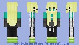 Skin 4 Tracksuit Girl Minecraft Skin