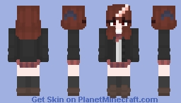 IJN Mogami - (School Skin - Unofficial) Minecraft Skin