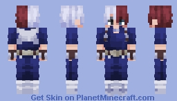 Shoto Todoroki | My Hero Academia | Season 4 Minecraft Skin