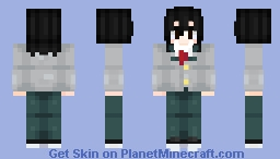 Shota Aizawa (YOUNG) V2 Minecraft Skin