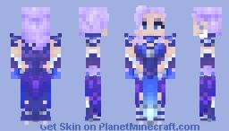 All Stars Mercy - Overwatch (Accessories Texture Pack in Description) Minecraft Skin