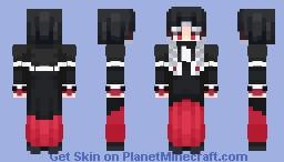 """I shall try to increase my circle of friends."" // I.R // Lunacy of Duke Venomania (Evillious) Minecraft Skin"