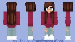 One Trendy Girl Minecraft Skin