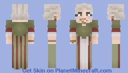 ↠ Wigged Lady Minecraft Skin