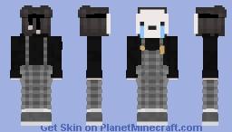 cry no hood Minecraft Skin