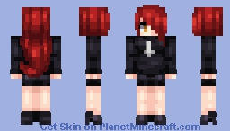 Skullgirls - Parasoul Minecraft Skin