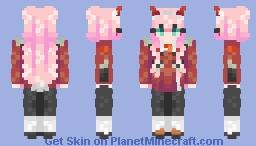 + Zero Two + Minecraft Skin