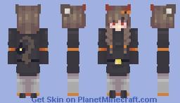 Medicinei, but a Halloween Skin Minecraft Skin