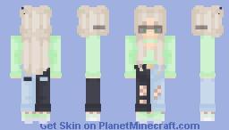mint julep Minecraft Skin