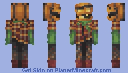 The Pumpkin Dispatcher [Contest Entry] Minecraft Skin