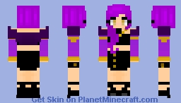 Evelynn (K/DA) Minecraft Skin