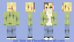 soaked in bleach - kurt cobain Minecraft Skin
