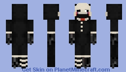 Withered Puppet Minecraft Skin