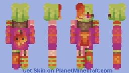 + (PERSONA) Pumpkin - SKINTOBER + Minecraft Skin