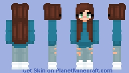 IRL skin of me Minecraft Skin