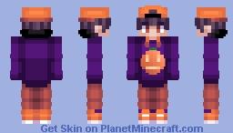 Jack o'Lantern Hoodie Minecraft Skin