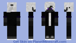 Drow Teenager Minecraft Skin