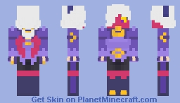 Brawl Stars - Trixie Colette Minecraft Skin