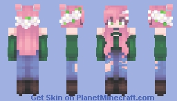 remake + livestream Minecraft Skin