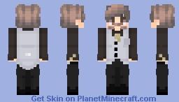 ~ Gentlemen In The Dark ~ Minecraft Skin