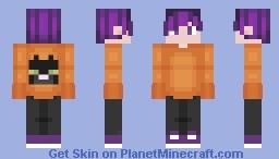 October Boy Minecraft Skin