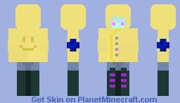 new style? Mayhaps.. Minecraft Skin