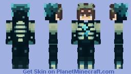 Spoopy Jin Minecraft Skin