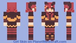 � ᴅᴀʀᴋ ʜᴀʟʟᴏᴡᴇᴇɴ ꜱᴋʏ~ � / 𝑅𝑒𝓈𝒽𝒶𝒹𝑒 𝒞♡𝓃𝓉𝑒𝓈𝓉❣ Minecraft Skin
