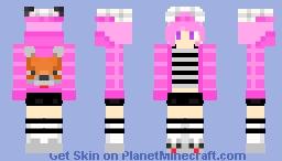FennecFoxie - Female Version Minecraft Skin