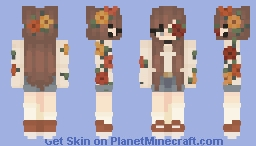 ♡ ready for the festival ♡ Minecraft Skin