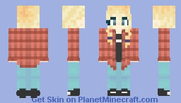 It's-a-me, Rae! Minecraft Skin