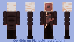 im hungry Minecraft Skin