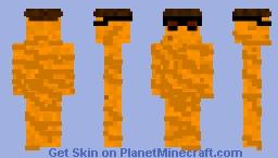 Noodle Man Minecraft Skin