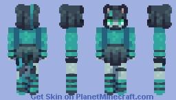 + Cheshire Cat - SKINTOBER + Minecraft Skin