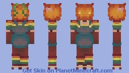 the leaves in a garden are hardly friends Minecraft Skin