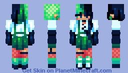 .;* gothic garden *;. Minecraft Skin