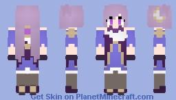 Keqing ~Genshin Impact Minecraft Skin