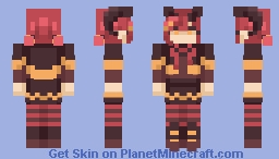 demon // rce Minecraft Skin