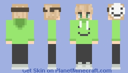 Dream as a human Minecraft Skin
