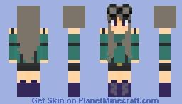 Mining Away ~ CE Minecraft Skin