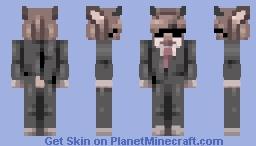 snazzy goat B) - day 12 Minecraft Skin