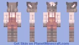 Goat - Skintober Day 12 Minecraft Skin