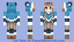 I made this with my bear hands Minecraft Skin