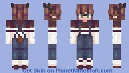 Creatures of the Forest ~;~ OC ~;~ Event Minecraft Skin