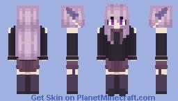 rushed skin because i forgot to skin again hahah Minecraft Skin