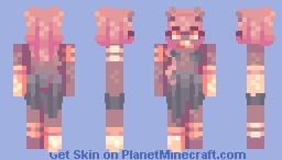 + Demon - SKINTOBER + Minecraft Skin